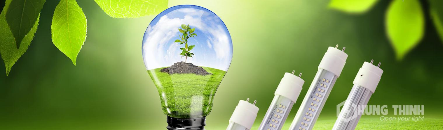 Bóng đèn led rất thân thiện với môi trường
