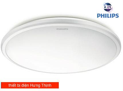 Đèn ốp trần led Philips 17W là có bề ngoài sang trọng giúp ích vẻ đẹp cho diện tích bên trong nhà, tiết kiệm điện năng tiêu thụ và thân thiện với môi trường