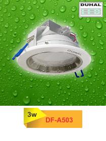Đèn led âm trần DF-A503 duhal được thiết kế với mẫu mã phong phú đa dạng, đáp ứng nhiều nhu cầu sử dụng khác nhau, tăng tính thẩm mỹ và sang trọng cho công trình. Sản phẩm thay thế dễ dàng cho các loại đèn âm trần truyền thống sử dụng bóng compact với nhiều tính năng vượt trội