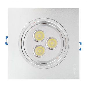 Đèn âm trần led DF-C801 duhal được thiết kế với mẫu mã phong phú đa dạng, đáp ứng nhiều nhu cầu sử dụng khác nhau, tăng tính thẩm mỹ và sang trọng cho công trình. Sản phẩm thay thế dễ dàng cho các loại đèn âm trần truyền thống sử dụng bóng compact với nhiều tính năng vượt trội