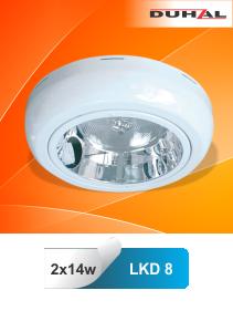 Đèn ốp trần cao cấp LKD là sản phẩm đạt tiêu chuẩn quốc tế IEC 60598 với IP44, LKD là loại đèn ốp trần hình tròn. Kiểu dáng mỏng, đẹp. Ánh sáng phân bố rộng, thích hợp cho việc lắp đặt ở khách sạn, khu vực làm việc văn phòng, nhà ở dân dụng …,