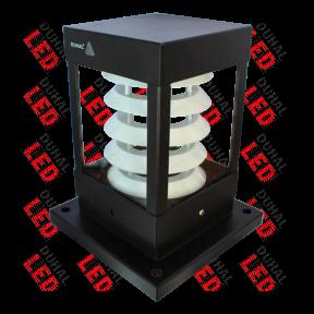 Đèn trụ sân vườn LTV 112 là sản phẩm đạt tiêu chuẩn quốc tế IEC 60598 dùng để đặt cột sân vườn, cột, tường rào, cổng ngõ. Thích hợp sử dụng ngoài trời, công viên, chiếu sáng công cộng,...
