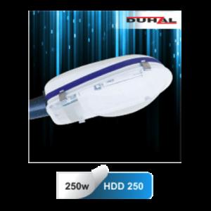 Đem đến hiệu quả chiếu sáng hiệu quả cho người sử dụng trong khâu chiếu sáng, chóa đèn đường Duhal HDD250 có độ bền tuổi thọ dài lâu, tiết kiệm và chiếu sáng hiệu quả cho mọi công trình đường phố hiện đại.
