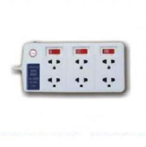 Với chức năng có ổ cắm 6 chấu để cắm được 6 đầu phích cắm khác nhau cho nhiều thiết bị điện, ổ cắm công suất lớn 6 lỗ 2,5m 6SS2.5-2 Lioa tiện dụng cho hoạt động sử dụng nhiều thiết bị điện khác nhau.