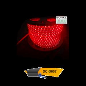 Đèn led dây ngoài trời DC-D007 Duhal được sản xuất dựa trên công nghệ hiện đại LED - CHIP 100% của Duhal đem đến nhiều trải nghiệm mới cho khách hàng. Thích hợp dùng chiếu sáng tại các khu thương mại, trung tâm giải trí, dùng làm trang trí và một số ứng dụng khác.