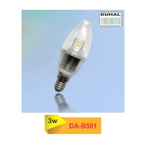 Bóng đèn Led Bulb DA-B501 là sản phẩm thân thiện với môi trường, tiết kiệm điện năng. Tháo lắp dễ dàng cho các loại đèn đui E14. Hoạt động như hệ thống báo động cảm ứng chuyển động. thích hợp cho khu vực công cộng,… Thiết Bị Điện Hưng Thịnh là nơi chuyên cung cấp sỉ và lẻ. Và là nhà phân phổi độc quyền của thương hiệu Duhal giá tốt nhất trên thị trường.