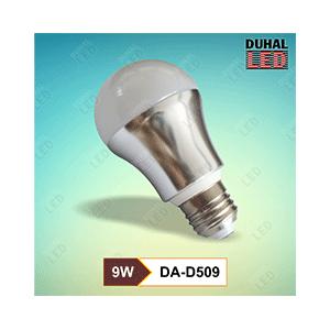 Bóng đèn Led Bulb DA-D509 là sản phẩm thân thiện với môi trường, tiết kiệm điện năng. Tháo lắp dễ dàng cho các loại đèn đui E27. Hoạt động như hệ thống báo động cảm ứng chuyển động. thích hợp cho khu vực công cộng,… Thiết Bị Điện Hưng Thịnh là nơi chuyên cung cấp sỉ và lẻ. Và là nhà phân phổi độc quyền của thương hiệu Duhal giá tốt nhất trên thị trường