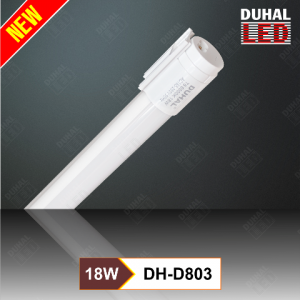 Bóng đèn led tuýp Duhal DH-D803(1,2m) sử dụng điện áp 220v. không cần dùng chấn lưu (ballast) và starter, khởi động sáng tức thì, không gây tiếng ồn, tiết kiệm điện. Sản phẩm rất thích hợp lắp đặt vào máng đèn huỳnh quang