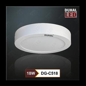 Đèn Led ốp trần vuông Duhal DG-C518 18W hiện đang được bán tại công ty Hưng Thịnh chúng tôi, đến với Hưng Thịnh bạn sẽ không phải lo lắng bất cứ vấn đề gì về chất lượng, giá cả sản phẩm hay các quy cách lặp đặt sử dụng.